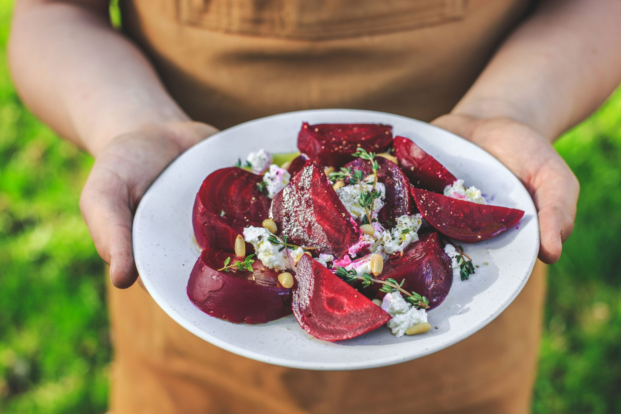 Beet and Goat Cheese Salad Recipe at Zingerman Creamery