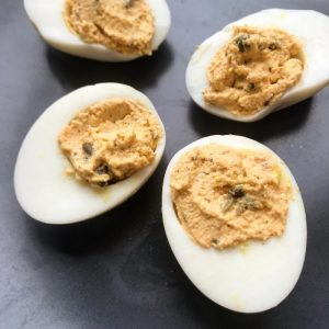 Liptauer Deviled Eggs